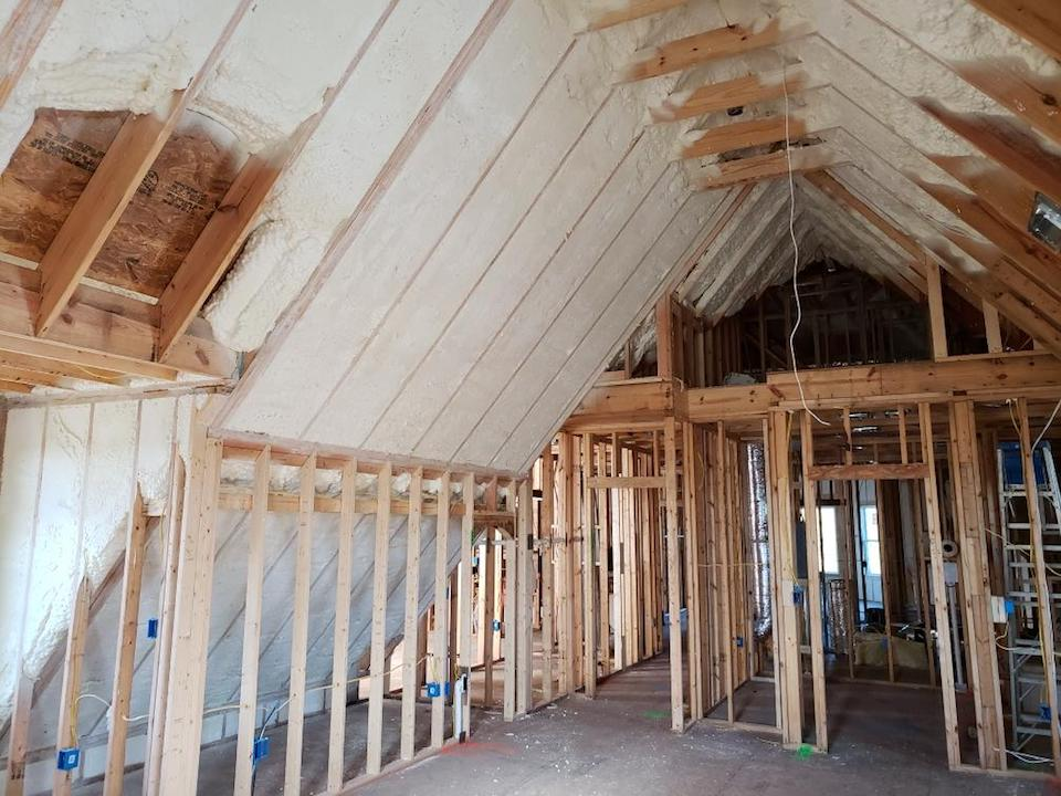 Attic Foam Insulation Knoxville TN