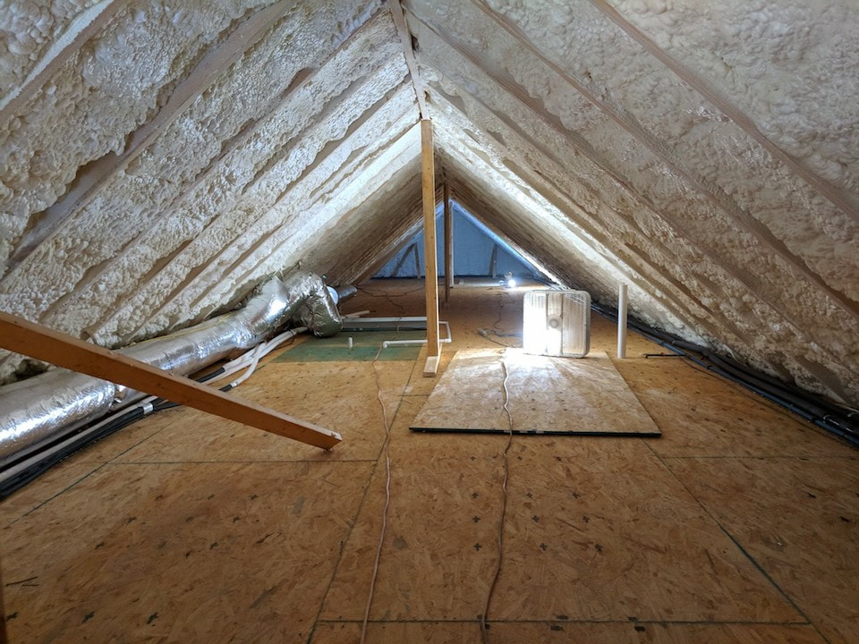 Attic Spray Foam Insulation Tennessee