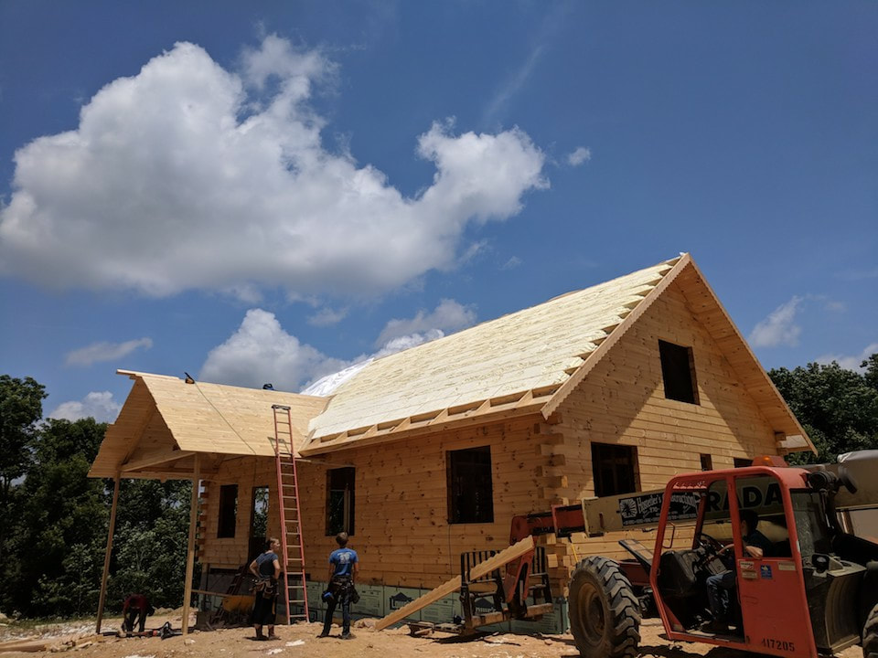 Cabin Spray Foam Insulation Tennessee