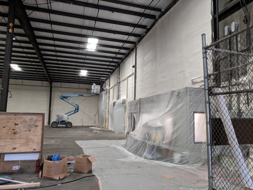 Commercial Building Spray Foam Insulation Tennessee