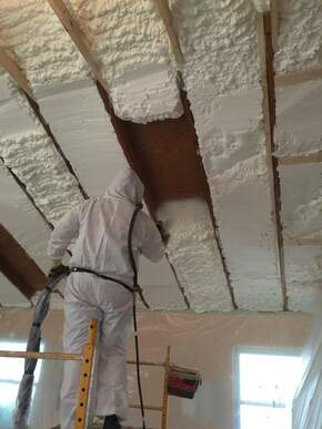Residential Spray Foam Insulation Knoxville