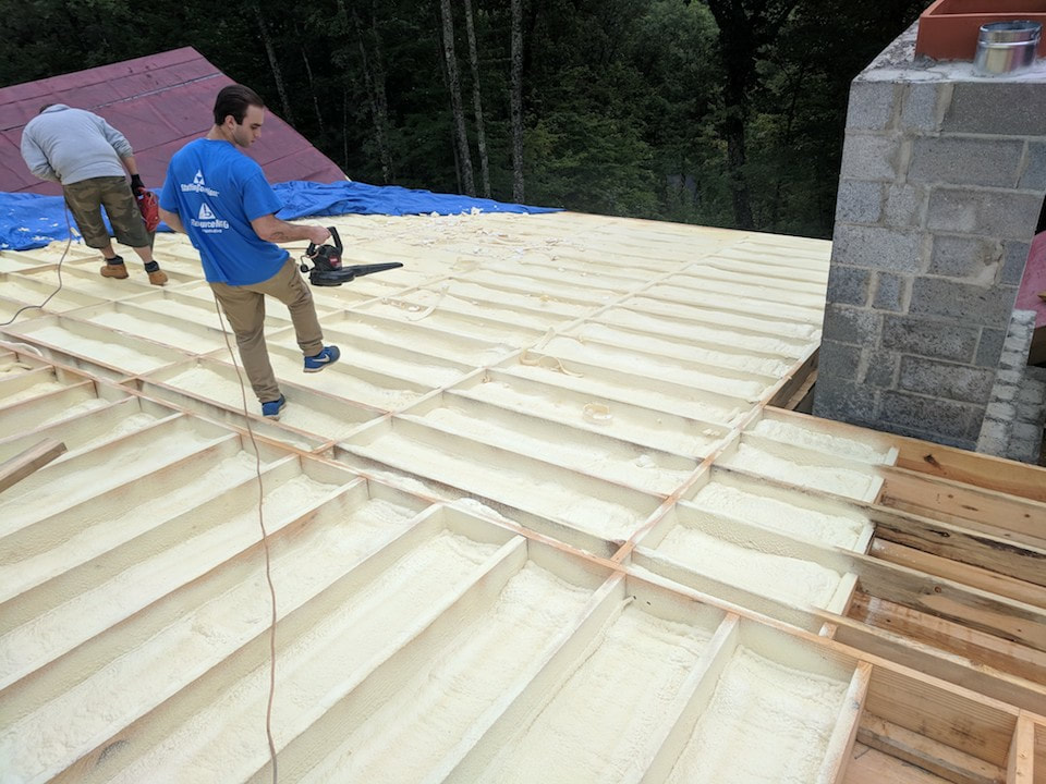 SPF Roofing Tennessee